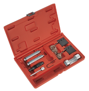 Sealey VSE2351 Diesel Engine Setting/Locking Kit - VAG 2.5D TDi V6 - Belt Drive